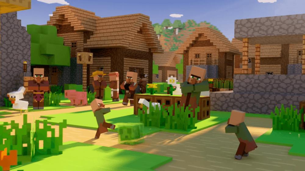 Онлайн Minecraft продолжает расти - бессмертная игра