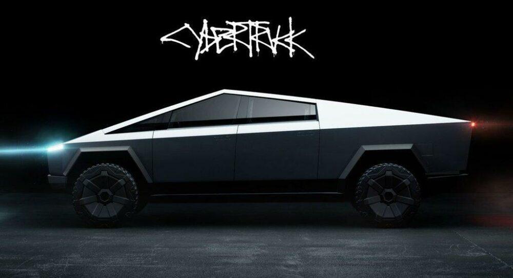 Электрический пикап Cybertruck стали добавлять во многие игры