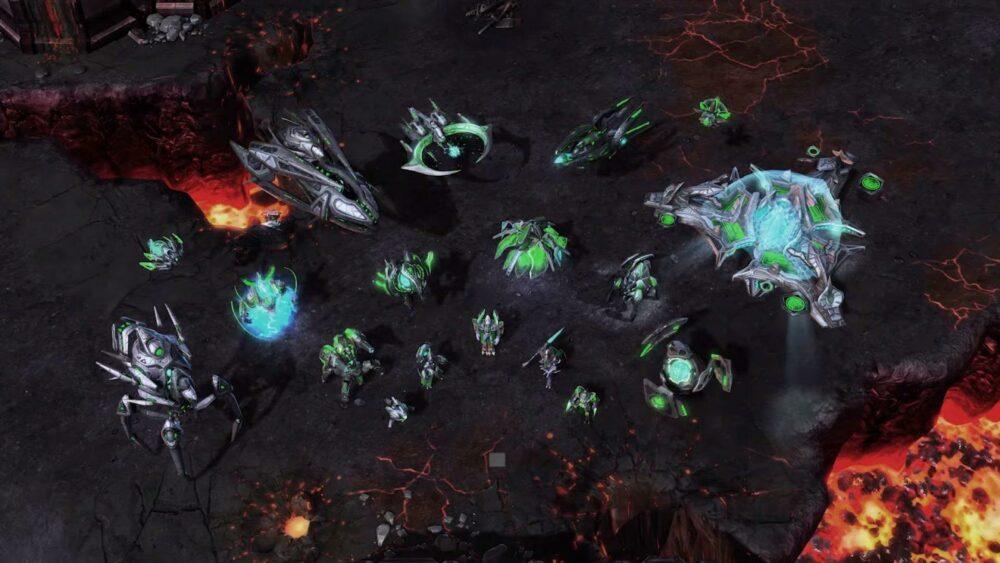 Спустя почти 10 лет, Blizzard задумалось над третьей частью StarCraft