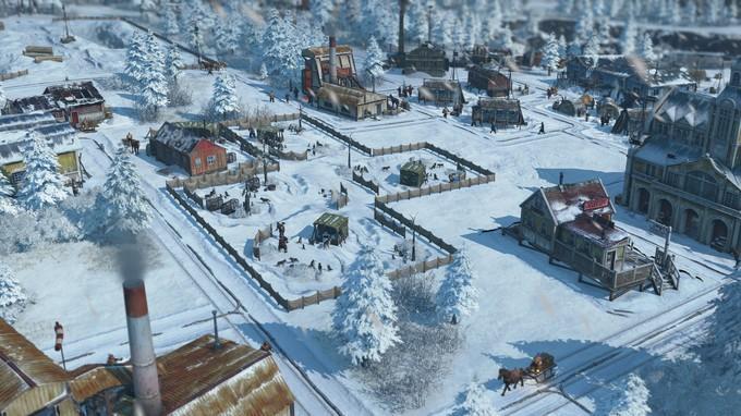 Зима придет в Anno 1800 10 декабря с дополнением