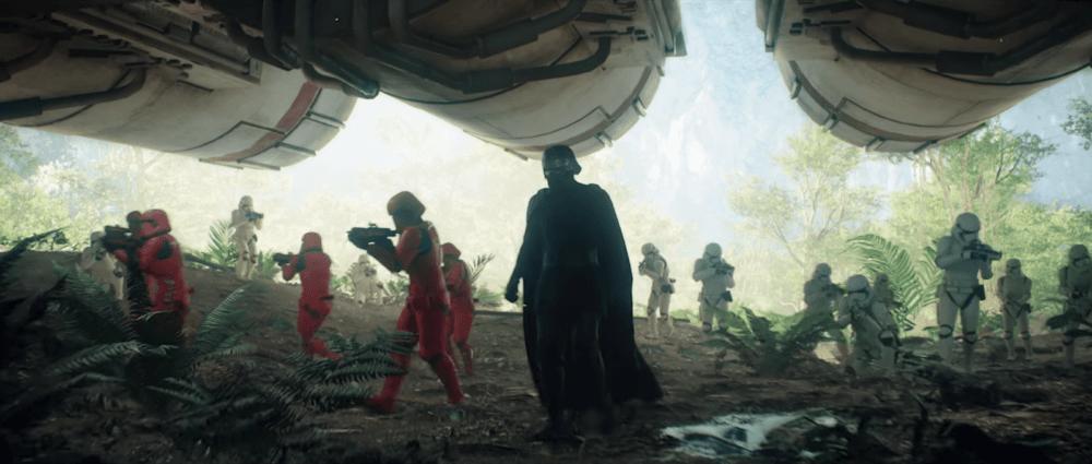 Трейлер девятого эпизода Star Wars: Battlefront II