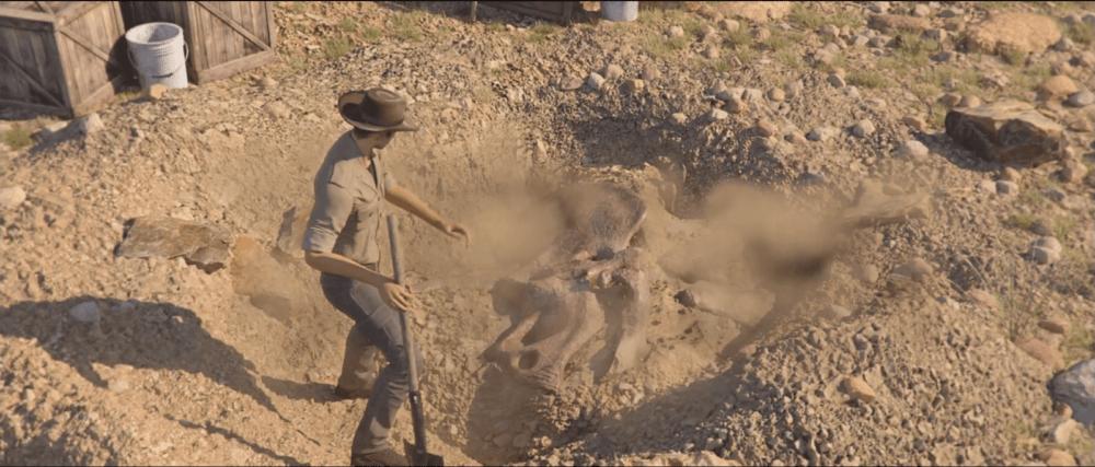 Трейлер симулятора археолога Dinosaur Fossil Hunter