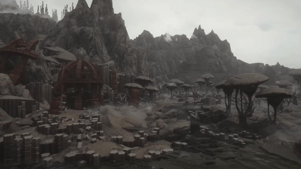 Пейзажи в новом видео Beyond Skyrim: Morrowind
