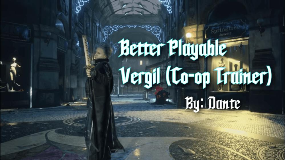 В Devil May Cry 5 теперь можно сыграть за Вергилия