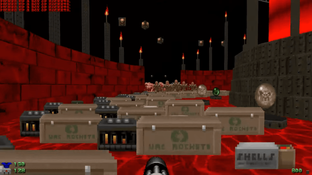 Для Doom вышел новый кооперативный мод Meatgrinder от создателя Brutal Doom