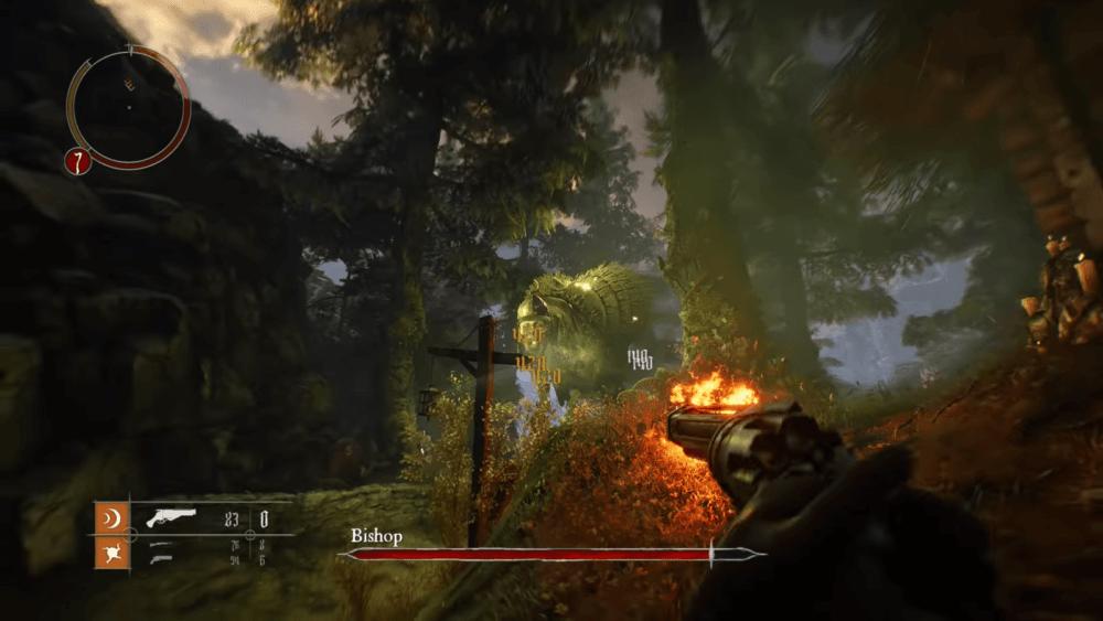 Новый геймплейный ролик Witchfire