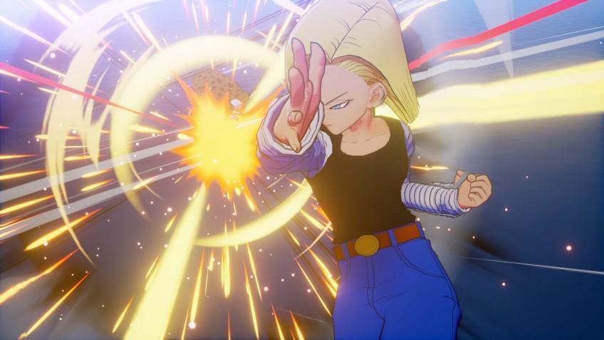 Свежие скриншоты Dragon Ball Z: Kakarot