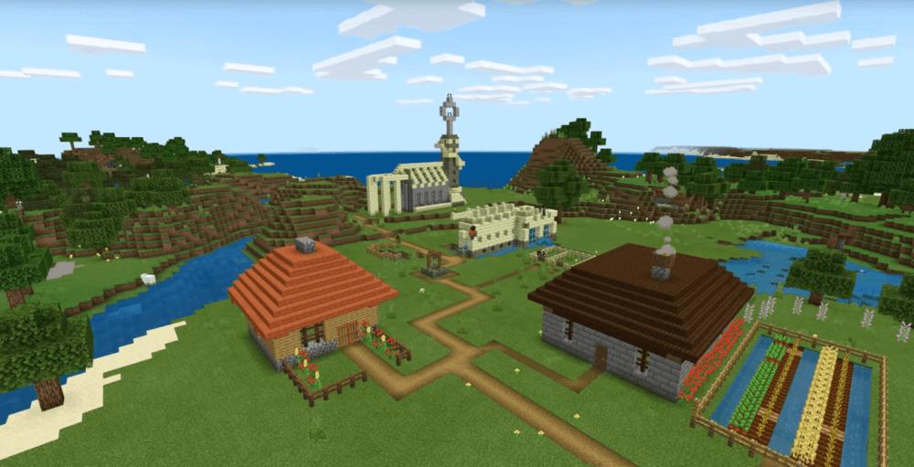 Уже сегодня доступен кроссплей для PS4 в Minecraft