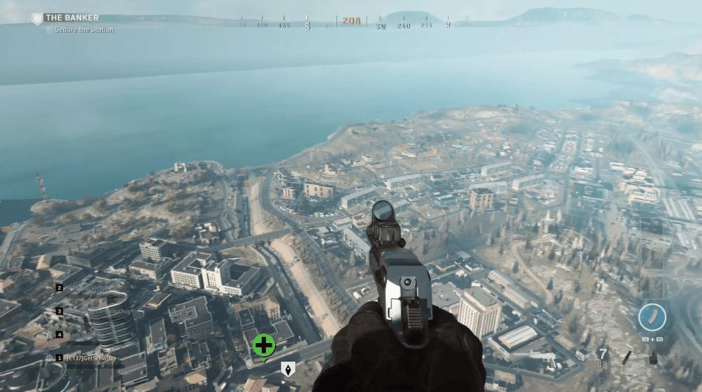 """Случайно снятая карта """"королевской битвы"""" CoD: Modern Warfare"""
