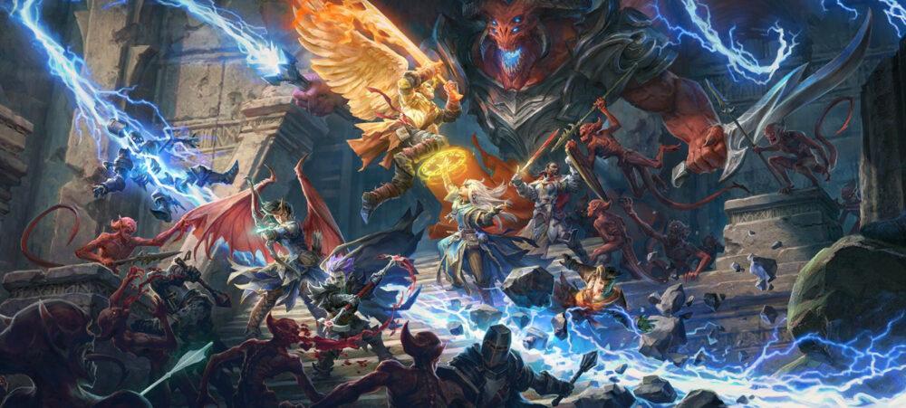 Финансирование новой ролевой игры Pathfinder: Wrath of the Righteous