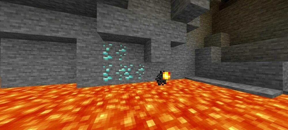 В Minecraft создали мод для движение текстур: Moving Blocks Resource Pack