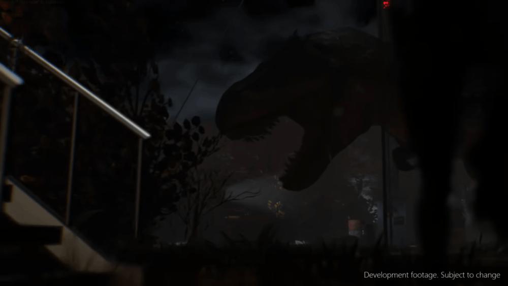 Геймплей фанатского ремейка Dino Crisis