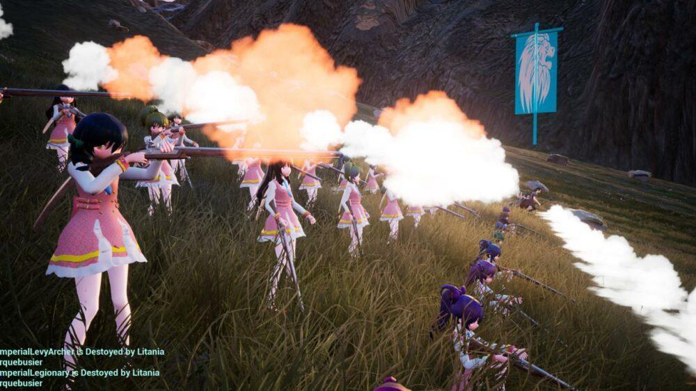 Собери свою армию аниме-девочек в Girls Civilization