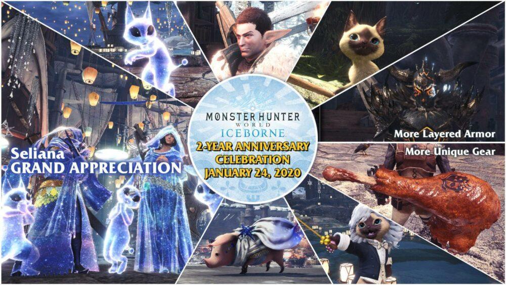 Monster Hunter World: Iceborne получит новые задания и броню в честь дня рождения