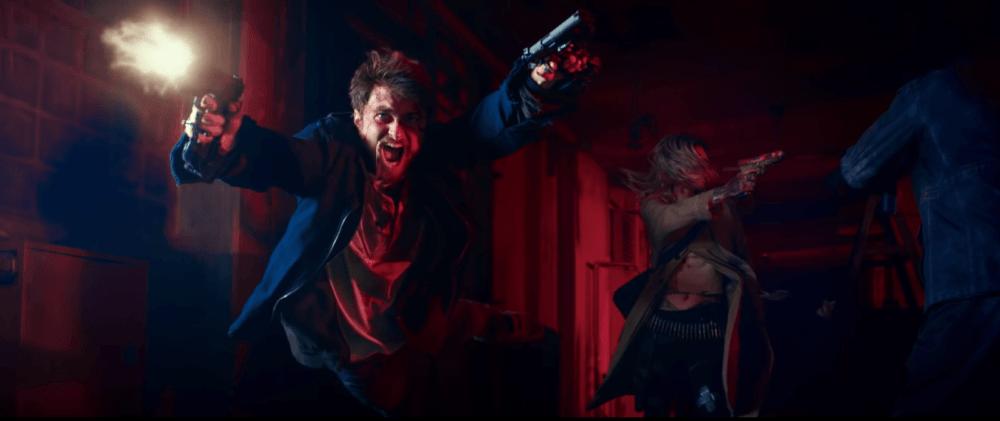 """Дэниэл Рэдклифф меняет палку на пистолеты в трейлере """"Безумный Майлз"""""""