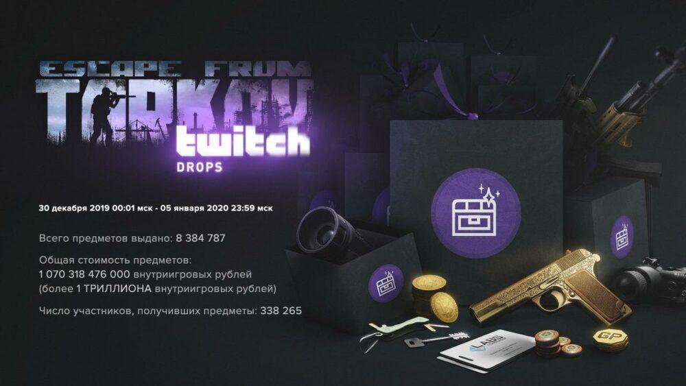 Канал разработчиков Escape from Tarkov забанили на Twitch