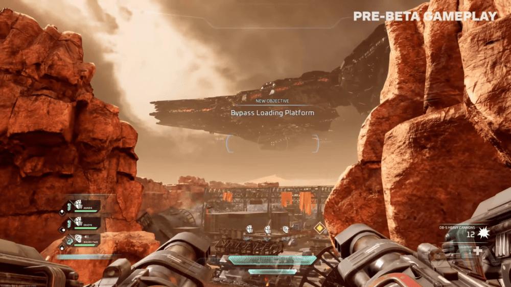 Свежий геймплей Disintegration