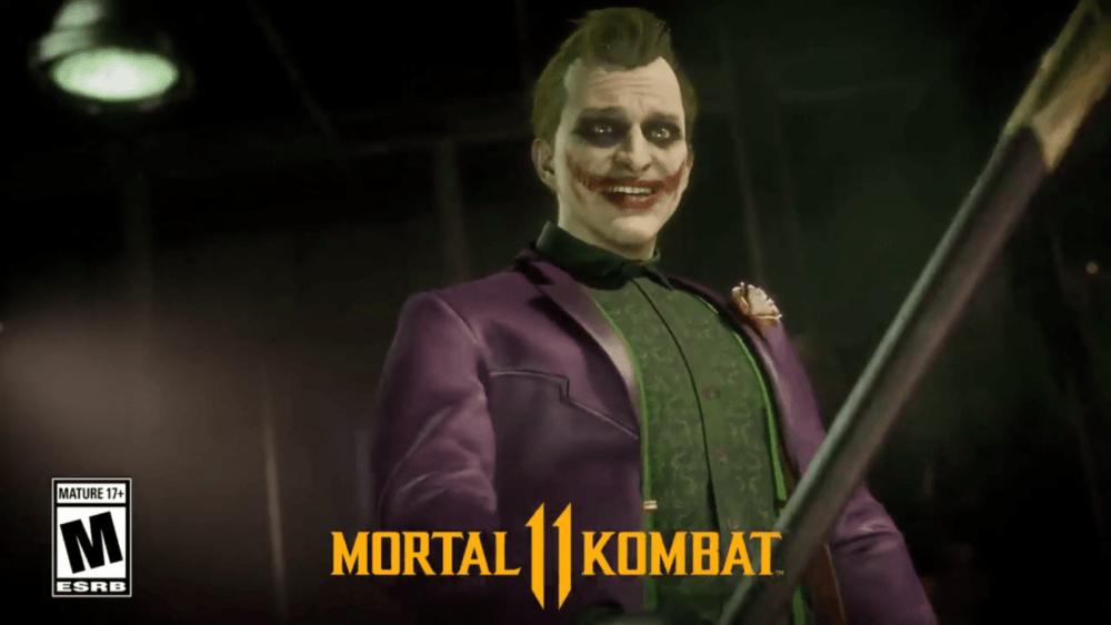 Тизер Джокера для Mortal Kombat 11