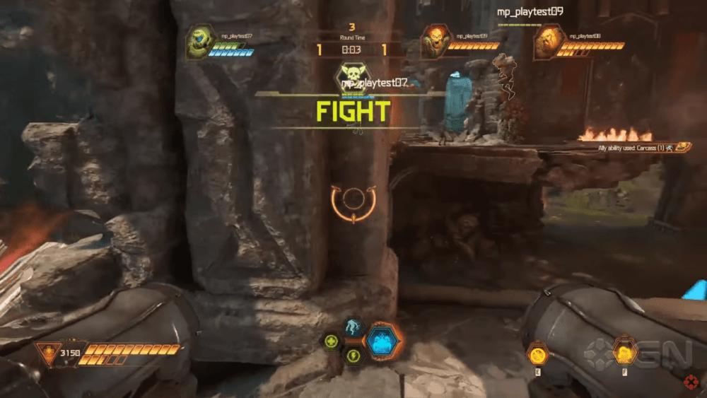 Геймплей режима мультиплеера Doom Eternal