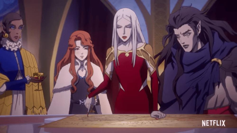 Трейлер третьего сезона Castlevania