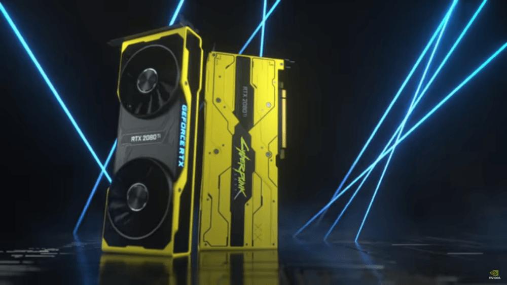 Nvidia анонсировали GeForce RTX 2080 Ti Cyberpunk 2077 Edition и разыгрывают 200 видеокарт