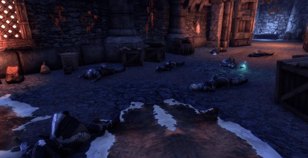 Трейлер дополнения The Elder Scrolls Online: Мрачная буря