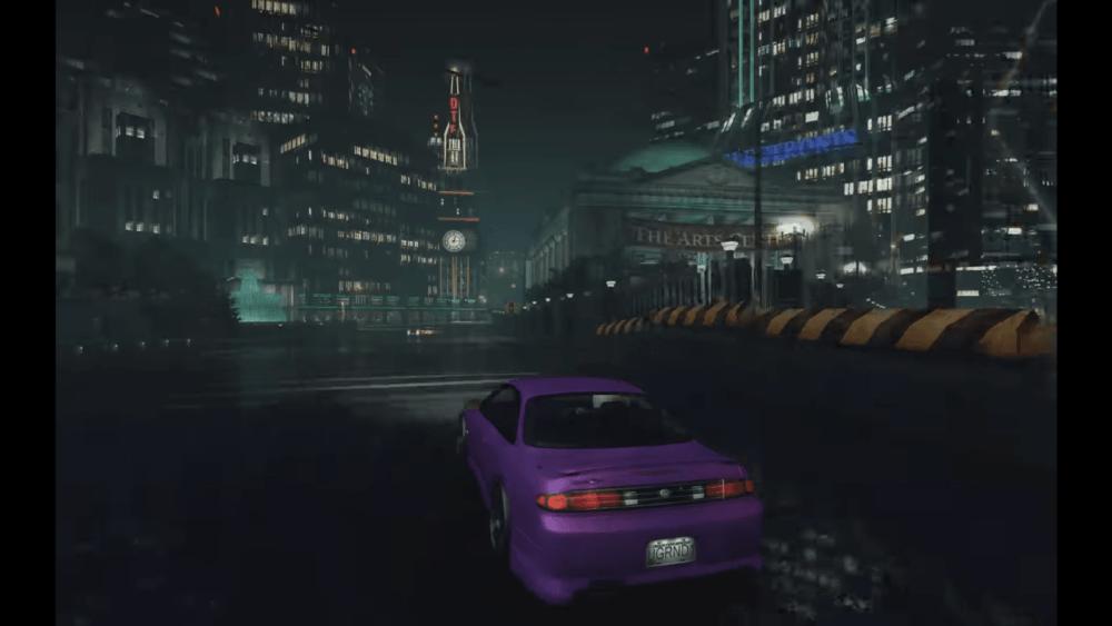 Need For Speed Underground с трассировкой лучей