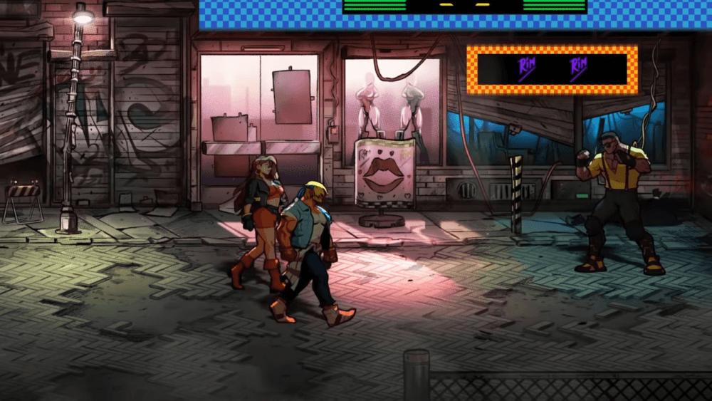 Геймплей и дата выхода Streets of Rage 4