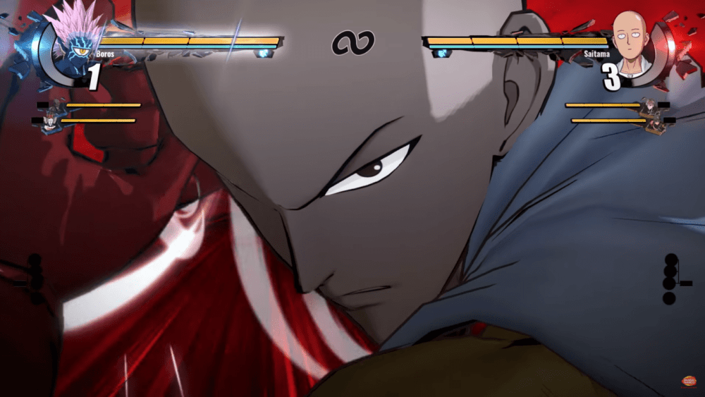 Сайтама в релизном трейлер One Punch Man: A Hero Nobody Knows