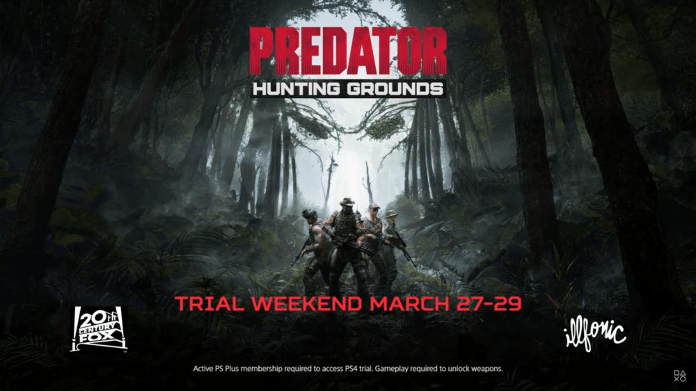 Новый трейлер и дата ОБТ Predator: Hunting Grounds