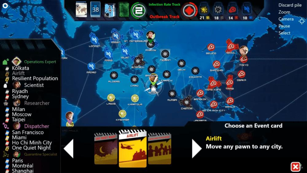 Раздача Pandemic бесплатно откладывается