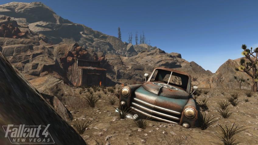 Новые скриншоты мода Fallout 4: New Vegas