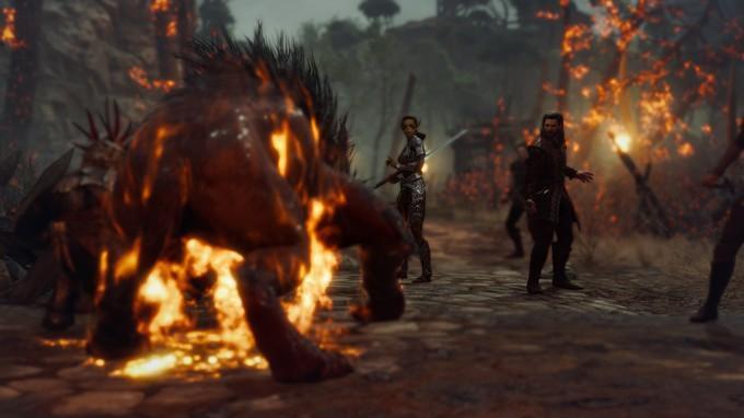 Утечка скриншотов Baldur's Gate 3