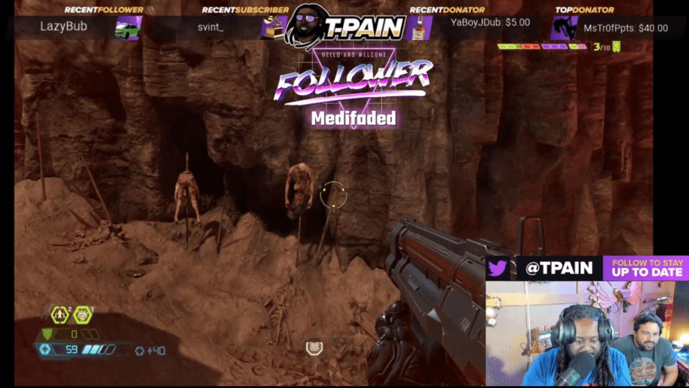 T-Pain и арт-директор поиграли в Doom Eternal - геймплей