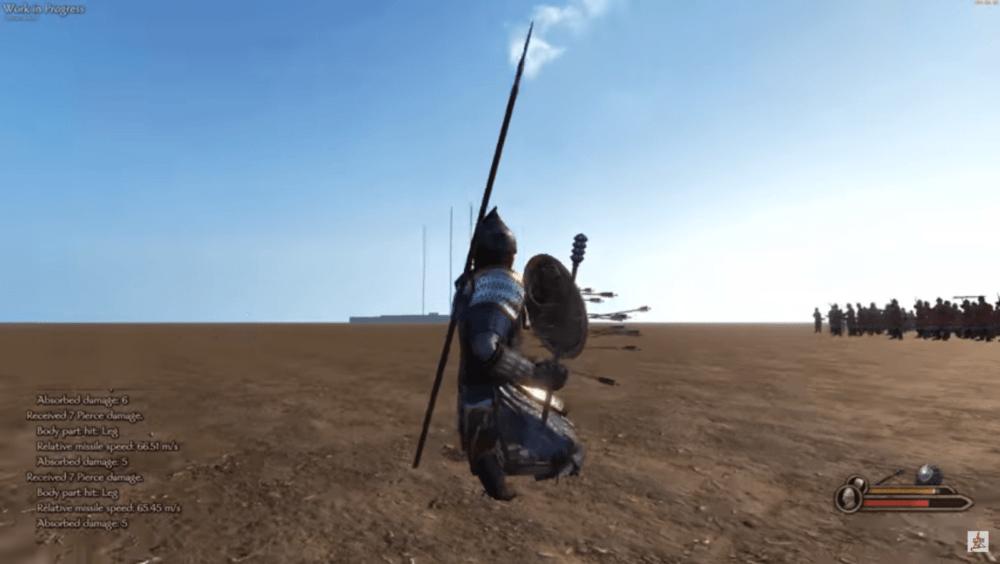 Геймлей Mount & Blade 2: Bannerlord с бета тестирования