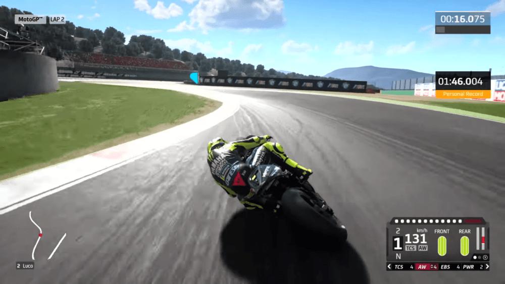 Первый геймплей ролик MotoGP 20