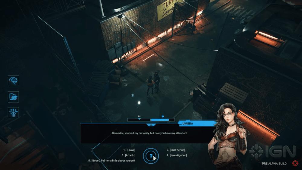 Десять минут геймплея Gamedec