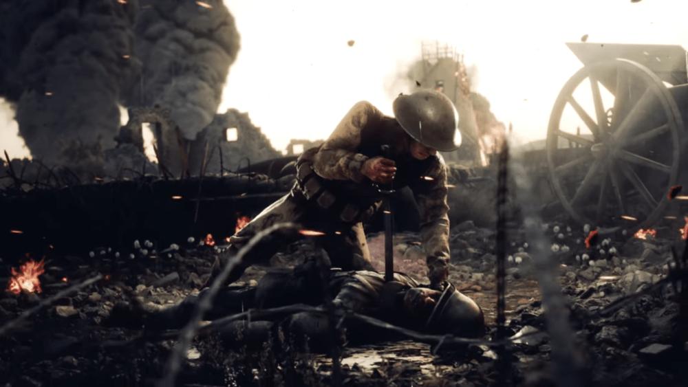 Анонсирована игра про Первую Мировую Войну - Beyond The Wire