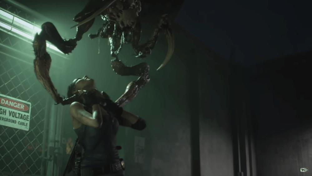 Свежий геймплей ремейка Resident Evil 3