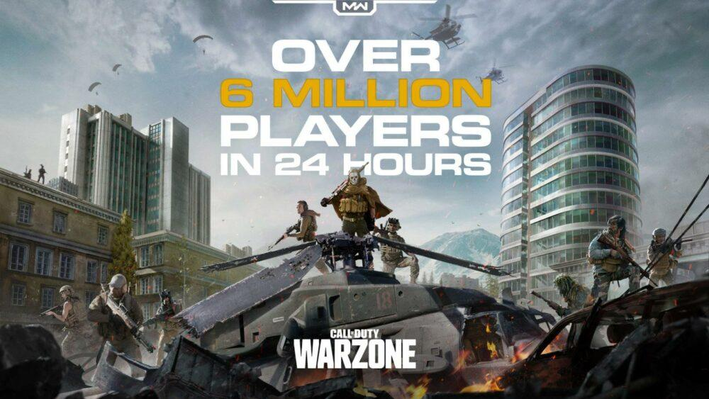 В Call of Duty: Warzone сыграло более 6 миллионов людей