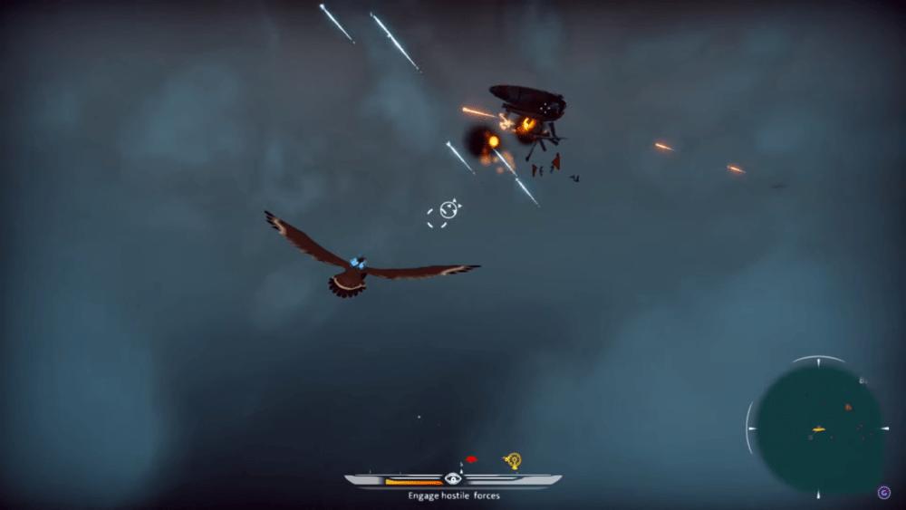 Сражения на орлах - геймплей The Falconeer