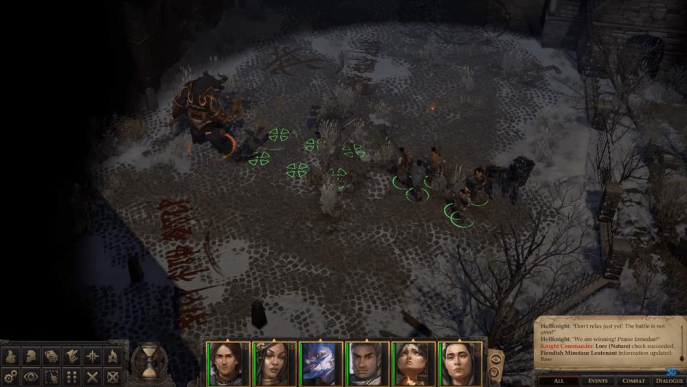 Полчаса геймплея Pathfinder: Wrath of the Righteous