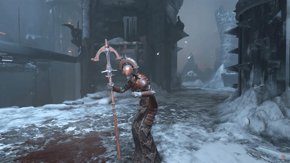 Сражение с боссом в свежем геймплее Doom Eternal