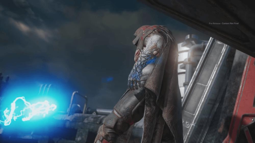 Сражение с боссом в геймплее Outriders