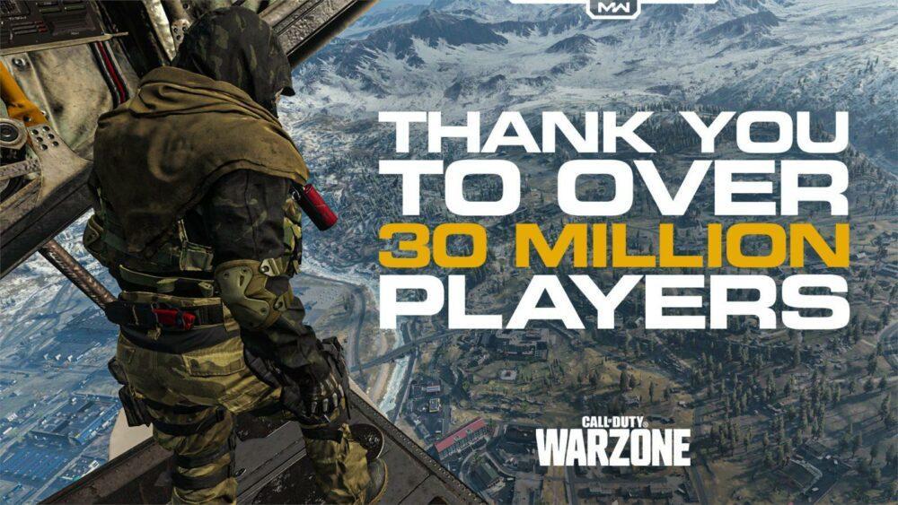 В Call of Duty: Warzone поиграло уже более 30 миллионов человек