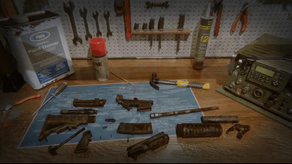 Трейлер симулятора владельца оружейного магазина Gunsmith Simulator