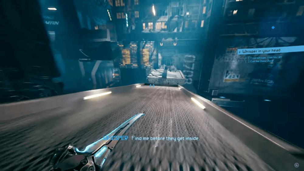 Геймплей слэшера Ghostrunner