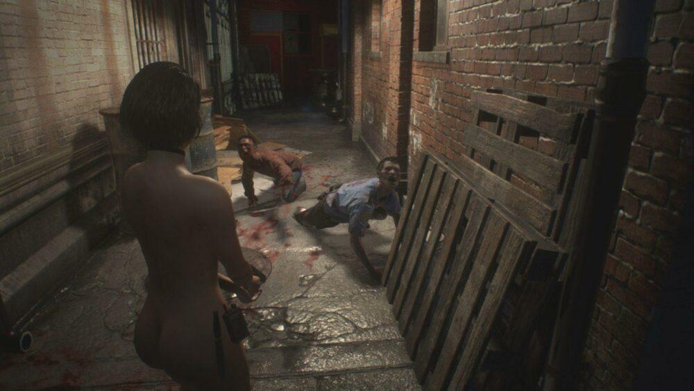 Голая Джилл уже и в демо ремейка Resident Evil 3