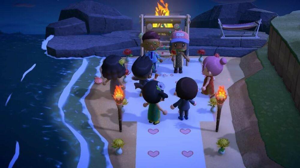Коронавирус заставляет людей проводить свадьбы в играх, например в Animal Crossing