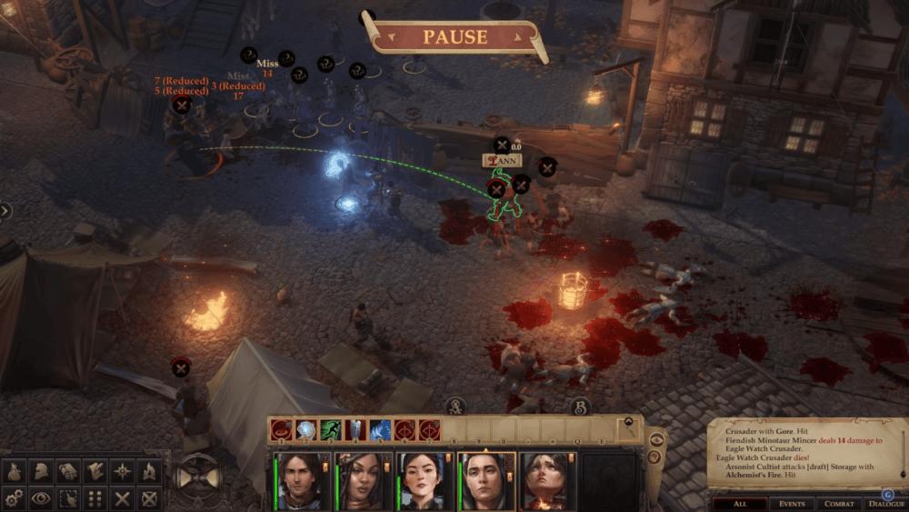 Геймплей Pathfinder: Wrath Of The Righteous